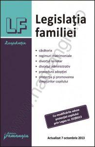 Legislatia familiei   Actualizare: 7 octombrie 2013