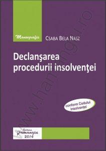 Declansarea procedurii insolventei | Autor: Csaba Bela Nasz