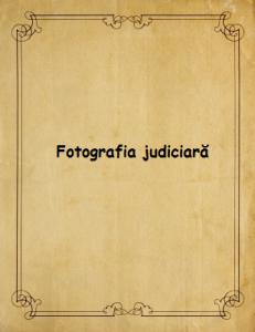 Fotografia judiciara
