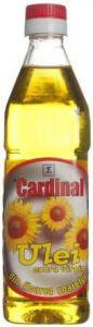 Ulei Cardinal de Floarea Soarelui presat la rece | 500 ml (sticla de plastic)