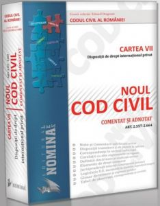 Dispozitii de Drept International Privat  | Cartea a VII-a | Noul Cod civil comentat si adnotat