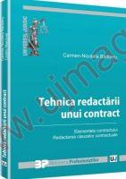 Carmen Nicoleta Barbieru: Tehnica redactarii unui contract. Elementele contractului. Redactarea clauzelor contractuale
